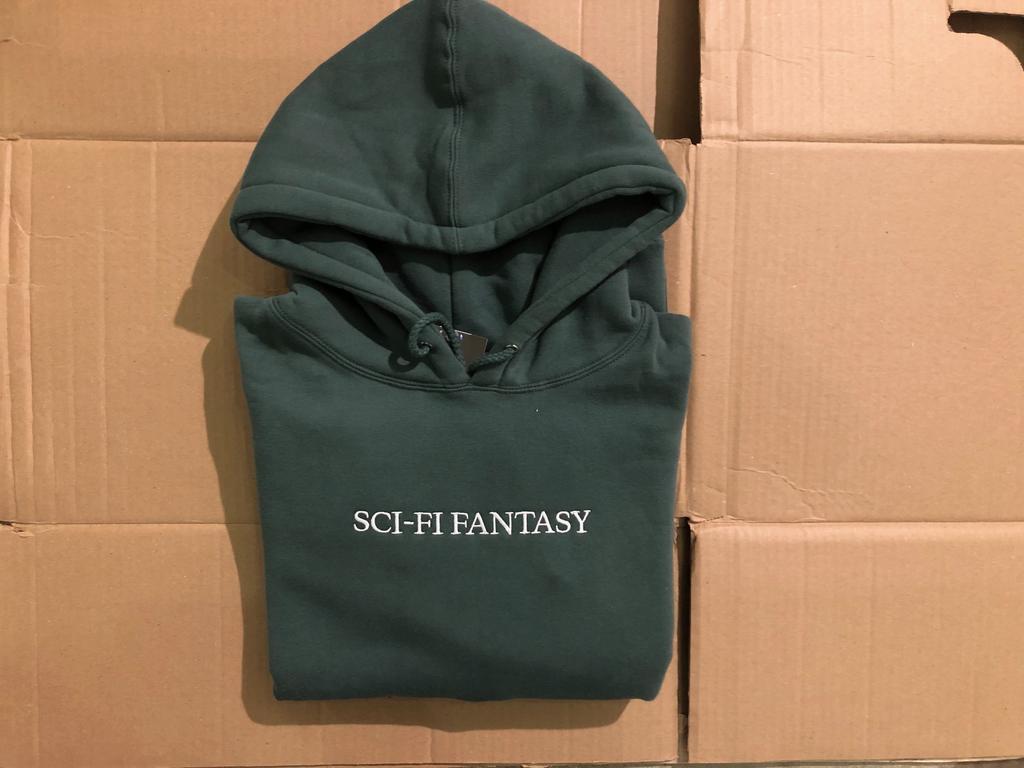 Sci-Fi Fantasy Logo Hood