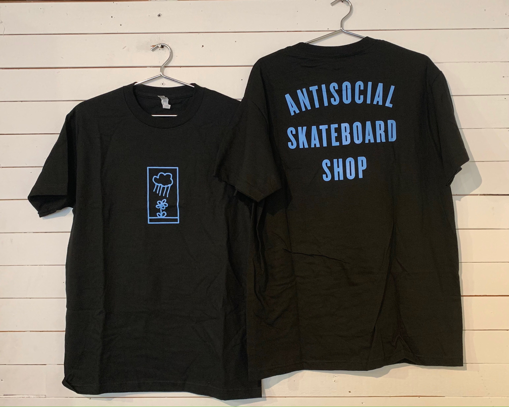 Antisocial Skateboard Shop Tee - Flower