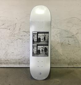 Polar Skateboard 8.75 - Klez Kidney for Sale - White