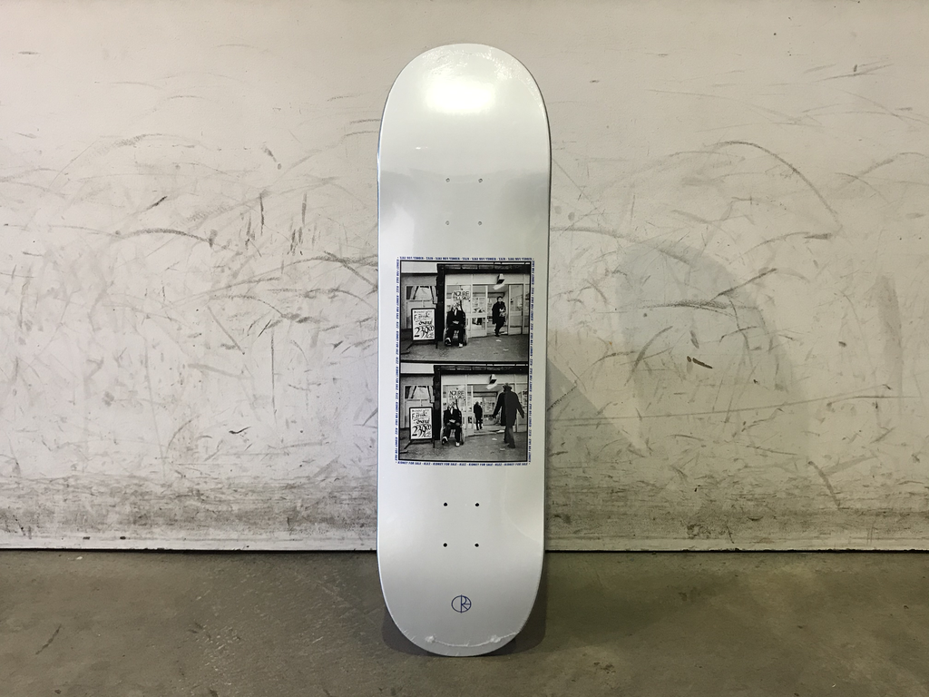 Polar Skateboard 8.75 - Klez Kidney for Sale - White