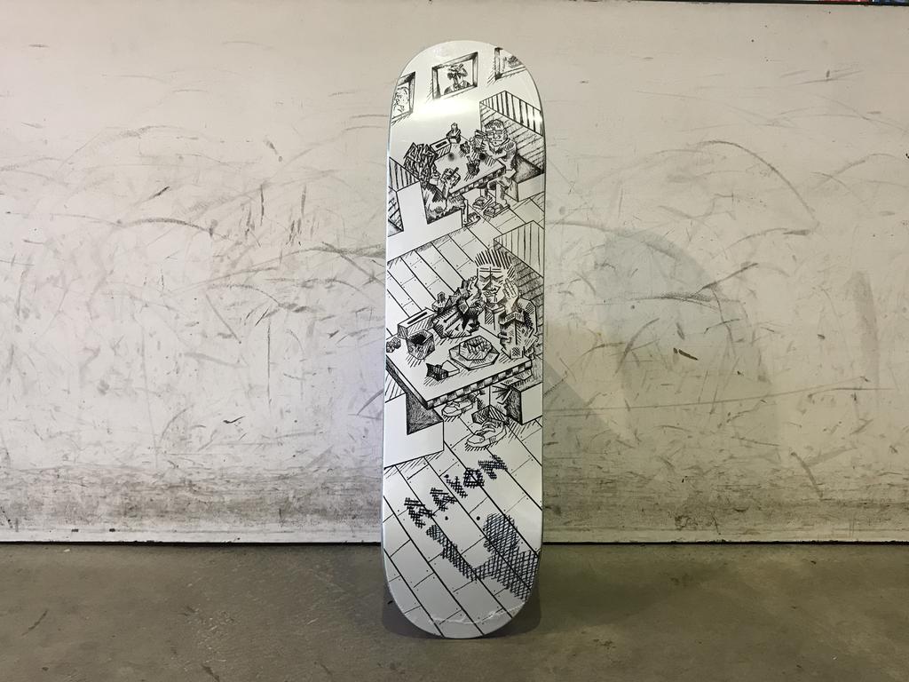 Polar Skateboard P2 Shape - Herrington Diner