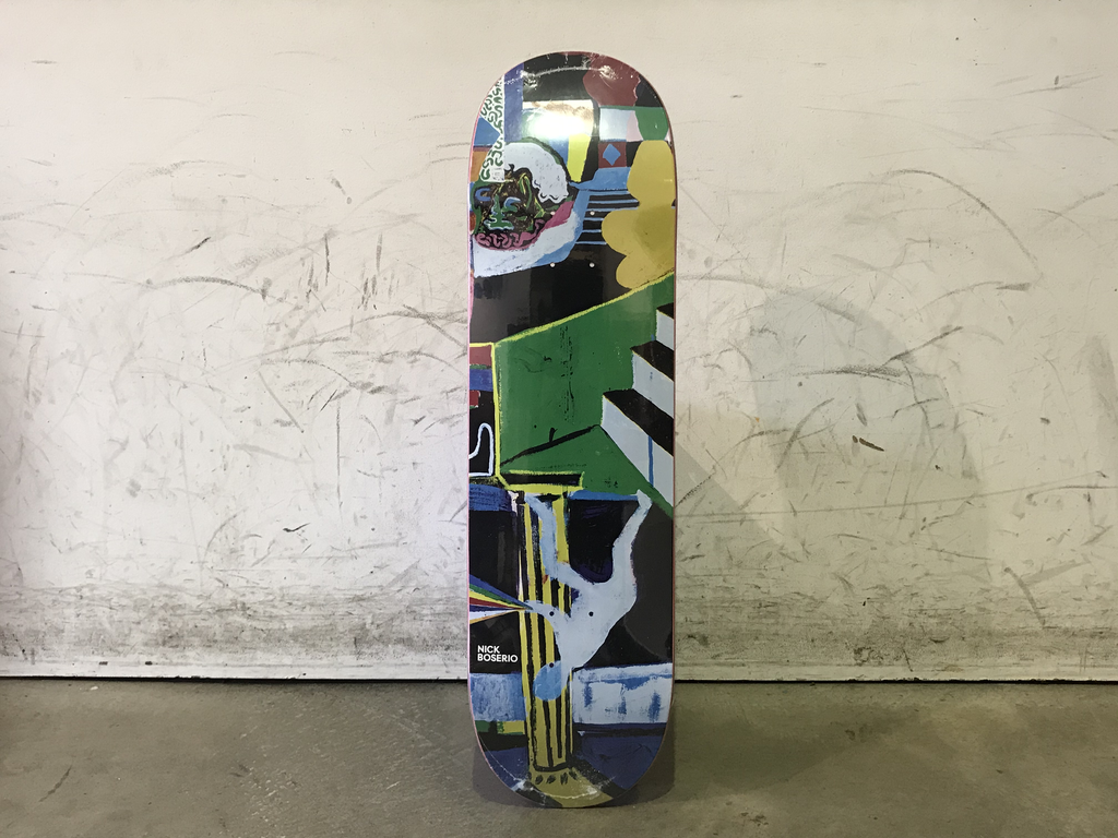 Polar Skateboard 8.625 - Boserio Memory Palace