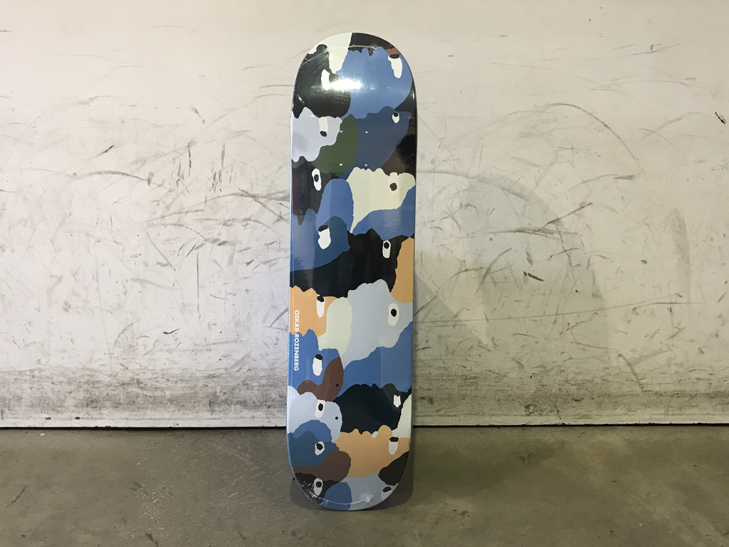 Polar Skateboard P9 Shape - Oskar Heads