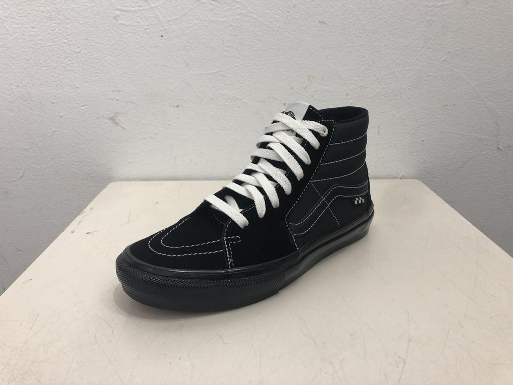Vans Skate Sk8-Hi Shoe - Black