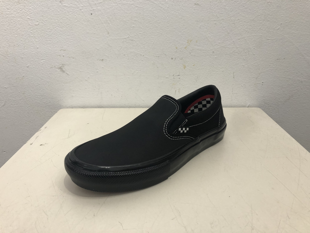 Vans Skate Slip-On Shoe - Black