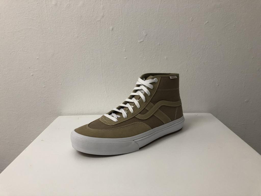 Vans Crockett High Pro Shoe - Incense/White