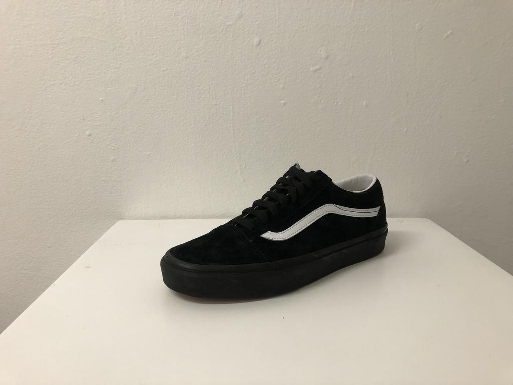 Vans Old Skool Classic Shoe - Suede/Black/Black