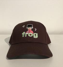 Frog I'm Not Listening Hat