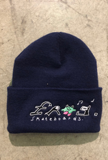 Frog Happy Dirty Toque