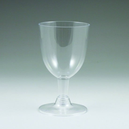 Plastic 5oz. Wine Glass 6pk