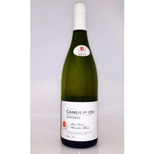 "Wines and sakes Chablis 1er Cru ""Vosgros""  2013 Domaine Ellevin"