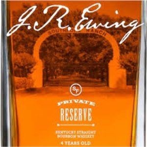 Liquors & Liqueurs J R EWING Bourbon Private Reserve  750ml (80 proof)