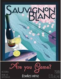 """Victoria Sauvignon Blanc 2013 Fowles """"Are you game"""" 750ml"""