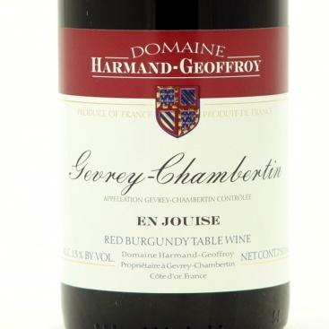 "Gevrey-Chambertin 'En Jouise"" 2006 Domaine Harmand-Geoffroy"