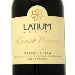 """Valpolicella Superiore 2012 Latium """"Campo Prognai"""" 750ml"""