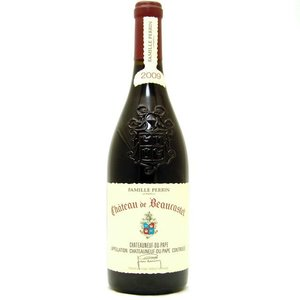 Wines and sakes Chateauneuf du Pape 2009 Chateau de Beaucastel 750ml