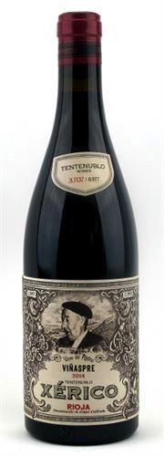 """Rioja Vinaspre 2015 Tentenublo """"Xerico"""" 750ml"""