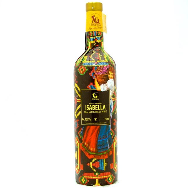Moldova Red N/V Vinaria Bostavan 'Isabella' 750ml