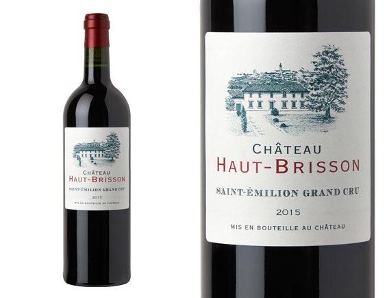"""Saint-Émilion Grand Cru 2015 Chateau Haut-Brisson """"La Grave"""""""