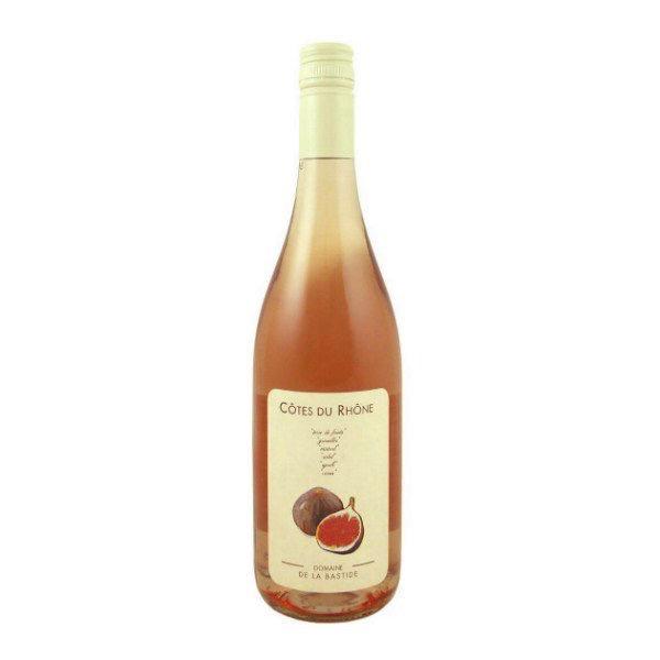 """Cotes du Rhone Rose 2018 Domaine De La Bastide """"Figue""""  750ml"""