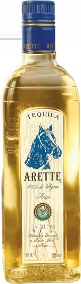 Tequila Arette de Jalisco Anejo  1.0 Liter  (80 proof)
