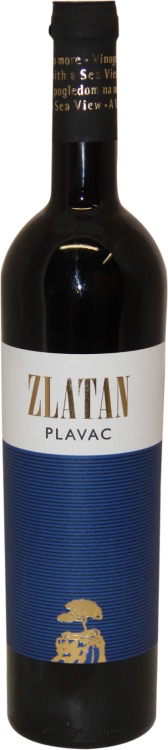 "Croatia Plavac Mali 2015 Zlatan Otok ""Sibenik""   750ml"