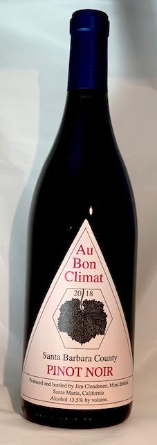 Santa Barbara Pinot Noir 2018 Au Bon Climat 750ml