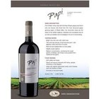 Wines and sakes Maule Valley Cabernet Sauvignon Malbec 2013 Papi Reserve Selection 750ml