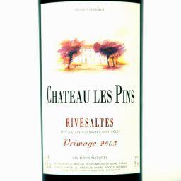 Rivesaltes Grand Cru Du Roussillon Red Primage 2015 Chateau Les Pins 750ml