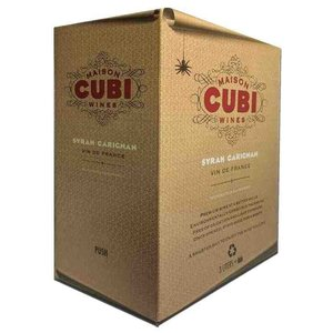 Wines and sakes Pays D'oc Red 3.0 Liter Box 2016 Maison Cubi