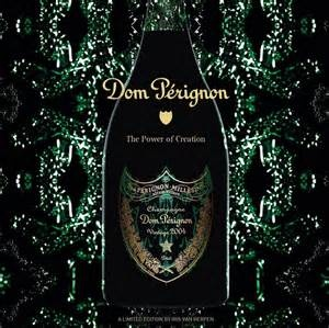 "Champagne Brut Grand Cru 2004 Dom Perignon Moet & Chandon ""Iris Van Herpen Limited Edition"" 750ml"