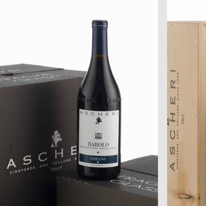 "Wines and sakes Barolo 2011 Giacomo Ascheri ""Sorano Vyd."""