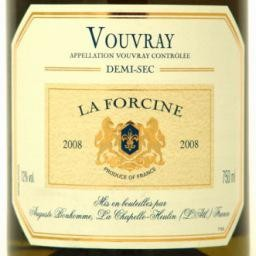 Vouvray Demi-Sec 2018 August Bonhomme 'La Forcine' 750ml