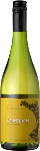 """Maipo Valley Chardonnay 2018 William Fevre """"La Mision"""" Riserva 750ml"""