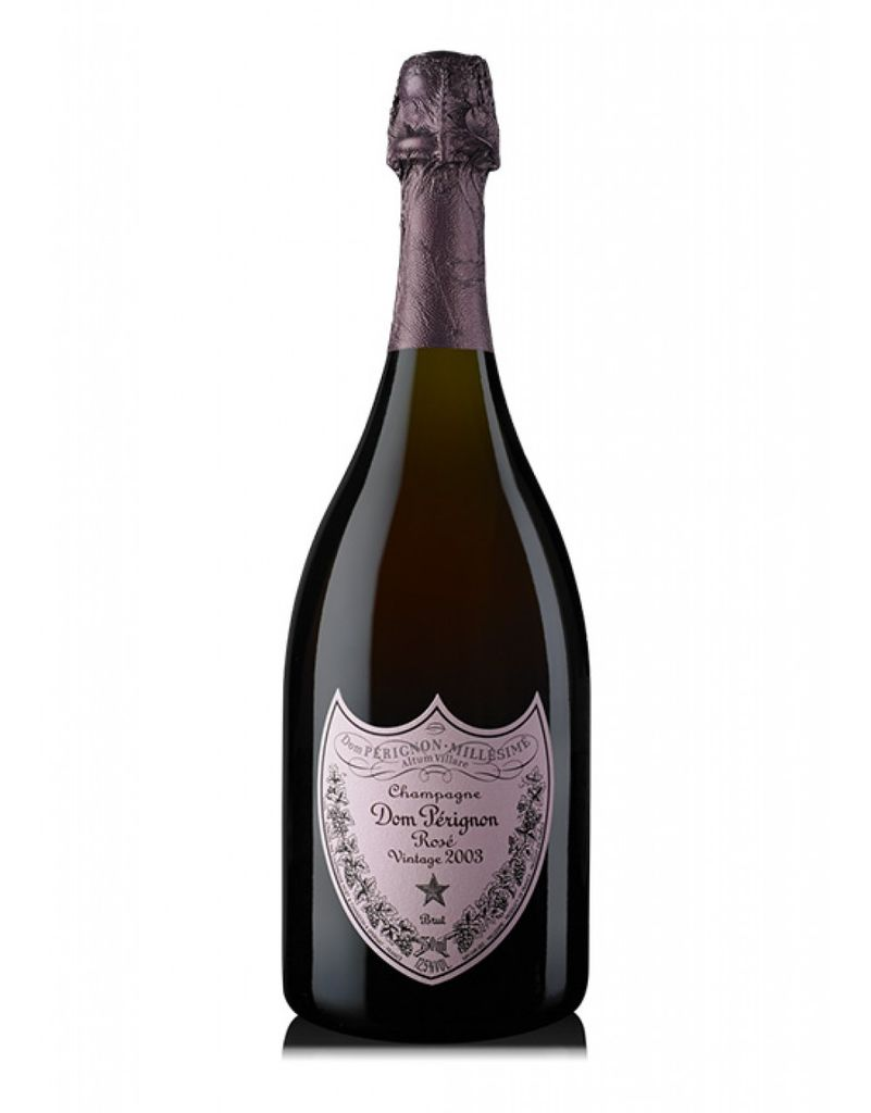 Champagne Brut Rose Grand Cru 2003 Moet & Chandon Dom Perignon 750ml
