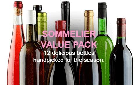 Sommelier Value Pack- Spring/Summer 2020  12bt x 750ml