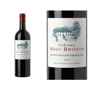 """Wines and sakes Saint-Émilion Grand Cru 2015 Chateau Haut-Brisson """"La Grave"""""""