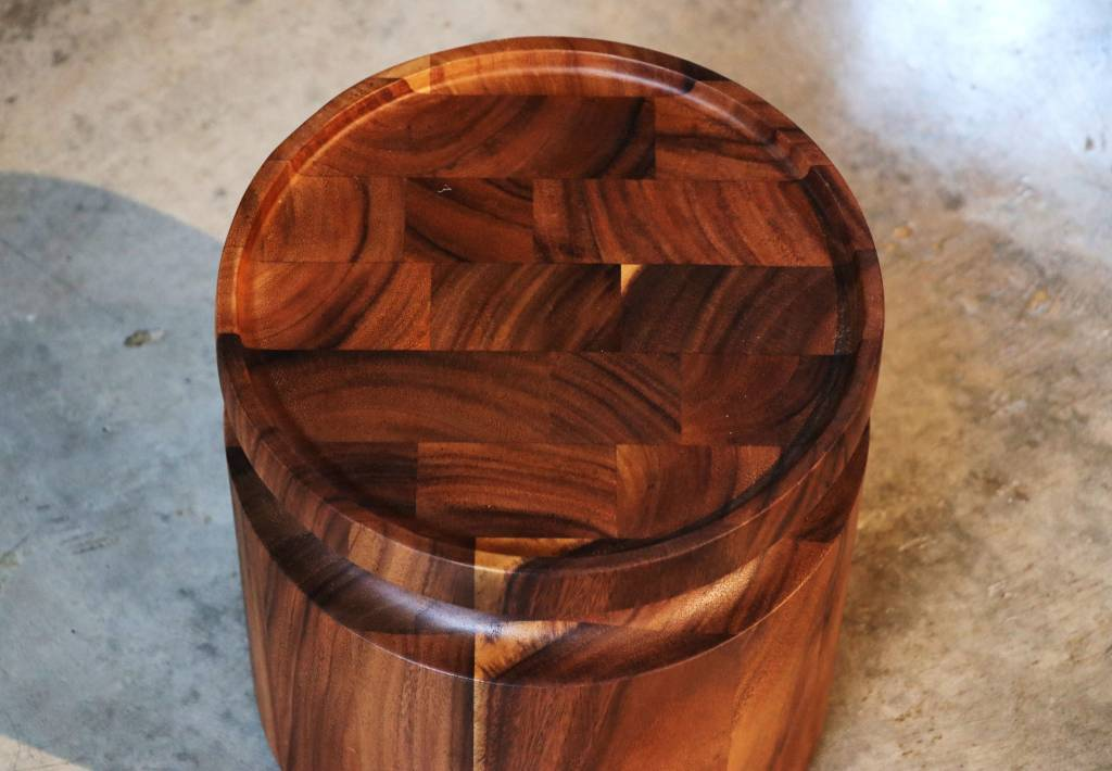 Acacia Circle side table