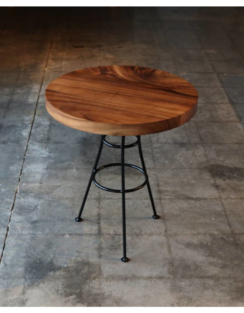 "Acacia Round Dining Table 24"" Dia. x 27"" H"