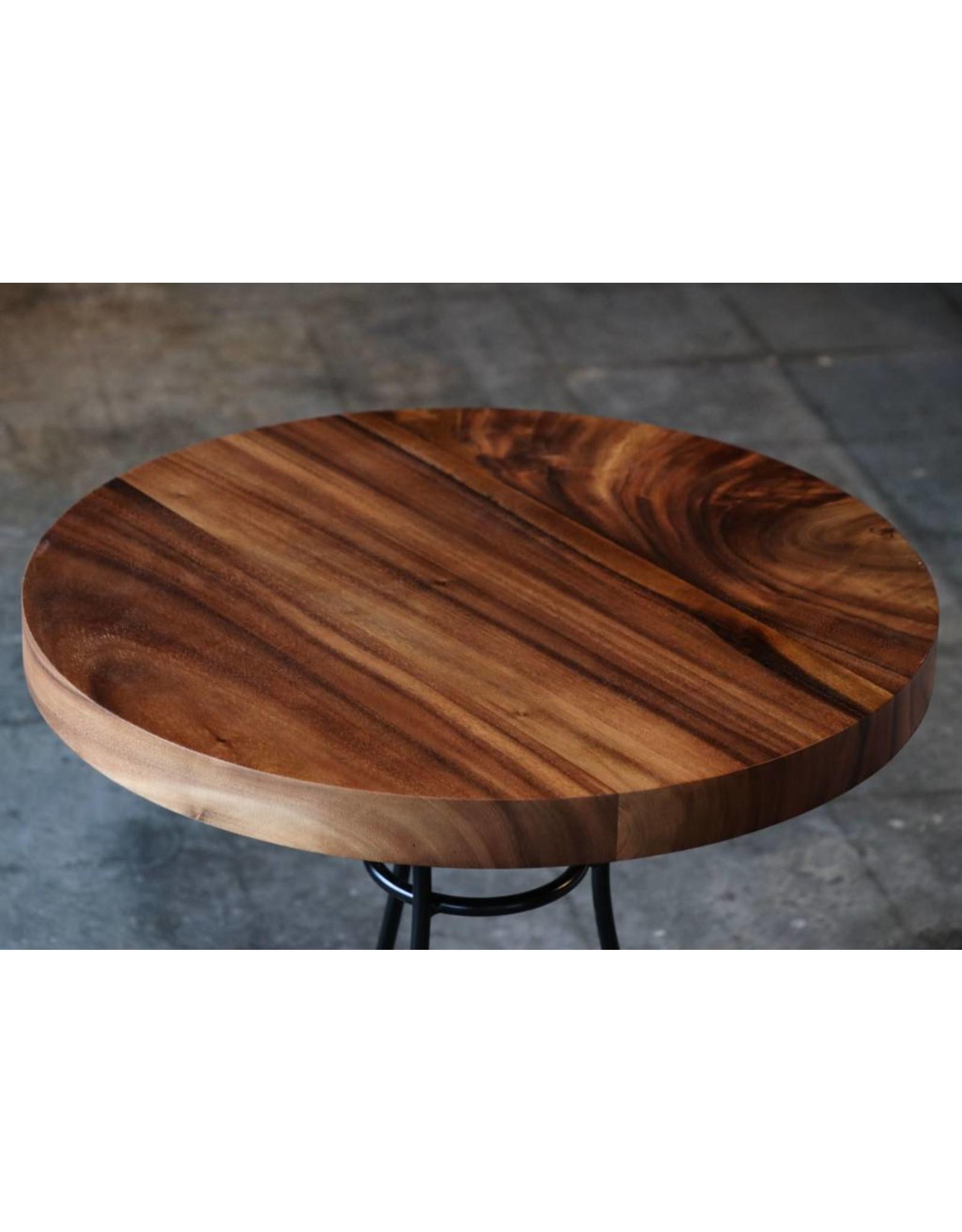 "Acacia Round Dining Table 24"" Dia. x 27"" H"