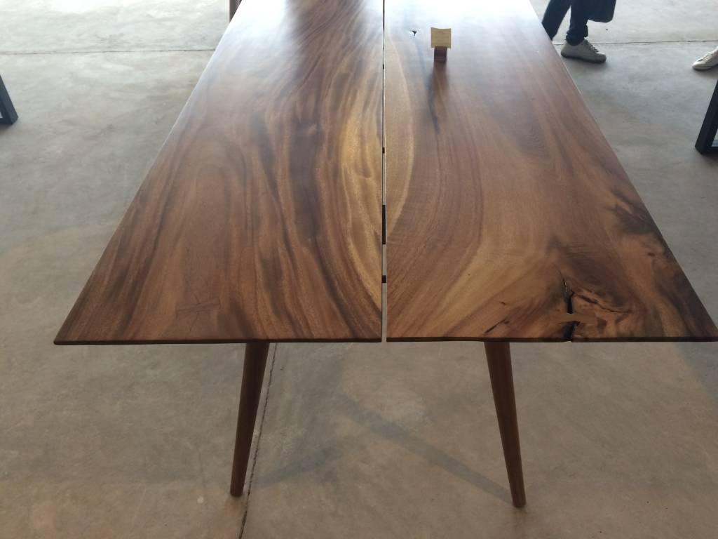 """Acacia Mid Century Table 72"""" x 36"""""""