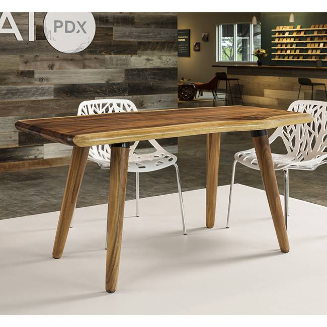 "Acacia Table Rounded Freeform 32"" x 60"""