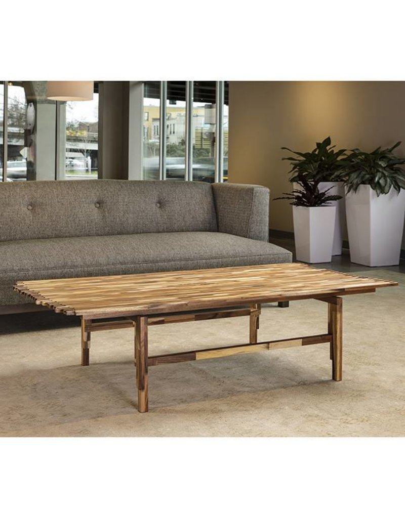 Acacia Jigsaw Coffee Table