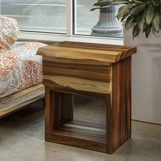 Acacia Bed Side Table