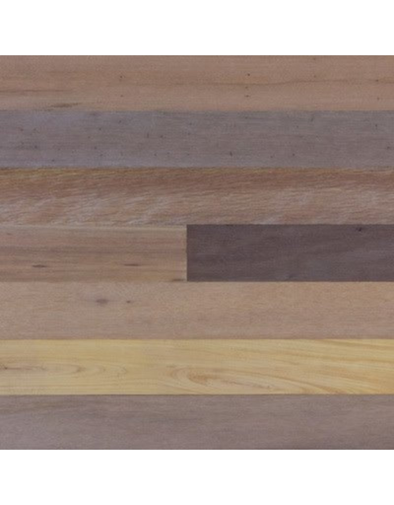 """Closeout Material: World Mix T&G Paneling Unfinished 2-3/8"""" Wide x 2-6ft Lengths"""