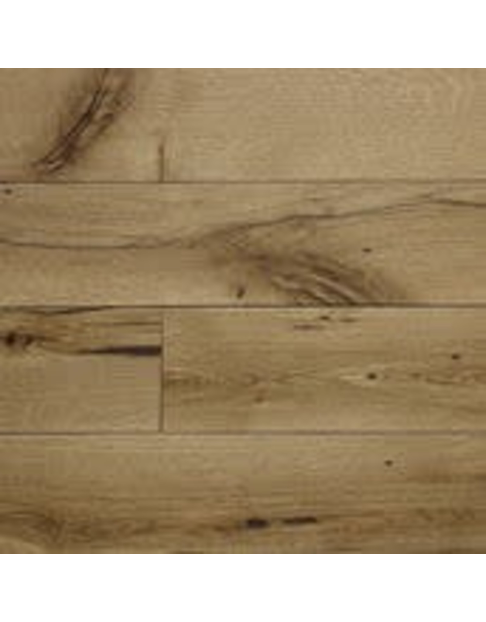 Closeout Material: Mission Oak White-Engineered-Clear Oil 4.5in Wide x 1-3ft Lengths
