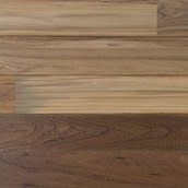 Closeout Material: Teak Engineered Paneling Clear Poly 3.5in. Wide x 83in. Length