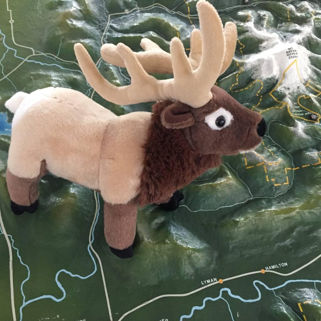 Stuffed animal elk