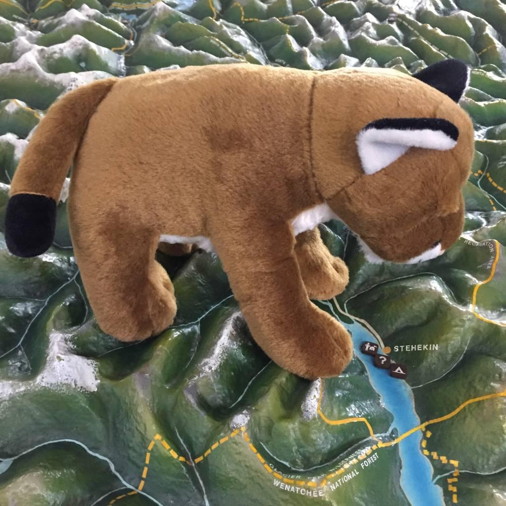 Stuffed animal mountain lion