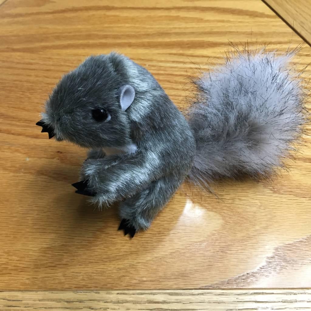 Finger puppet squirrel